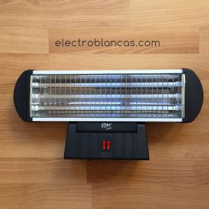 radiador de cuarzo de pie EDM - electroblancas