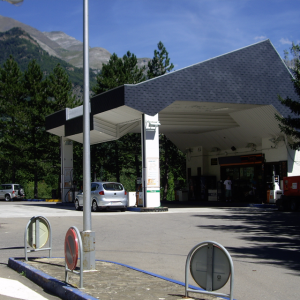 Instalación eléctrica de gasolinera