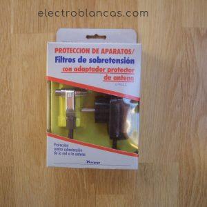 filtro sobretension para antena tv - electroblancas