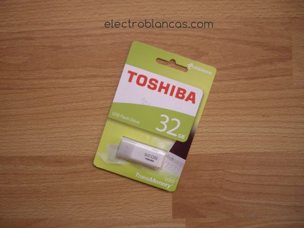 pen drive toshiba 32gb - electroblancas