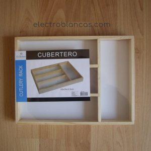 cubertero madera ref. 00033 - electroblancas