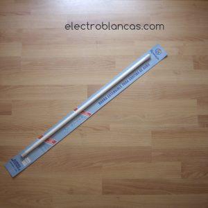 barra extensible cortina baño blanca ventosas re. 00100 - electroblancas