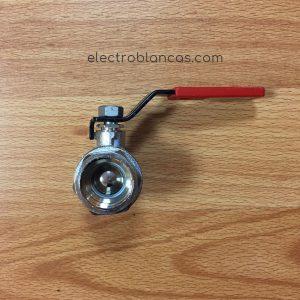 llave de bola de 3-4 para agua fría - cierre rápido ref. 00096 - electroblancas