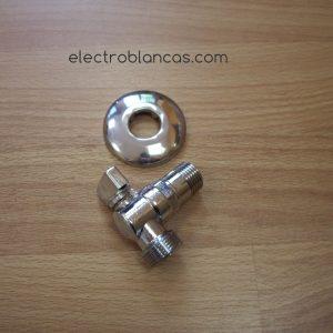 válvula escuadra lavadora ref. 00097 - electroblancas