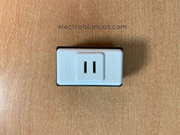 portafusible I eunea metropoli blanco - electroblancas
