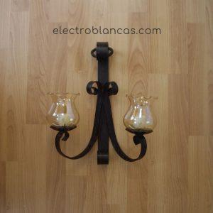 aplique doble forja ref. 00161 - electroblancas