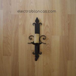 aplique mural simple forja ref. 00158 - electroblancas