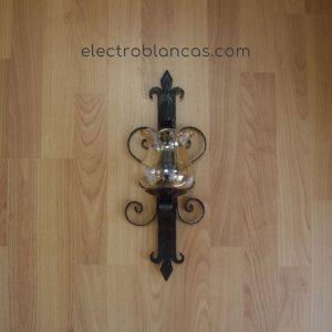 aplique mural forja simple ref. 00157 - electroblancas