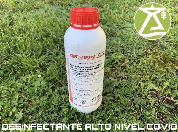 desinfectante ox-virin 1 kg. - electroblancas